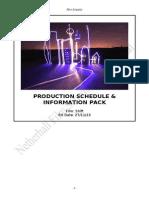 Production Schedule 2