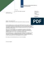Kamerbrief berichtgeving over AIVD onderzoek Bonaire