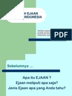 KAIDAH EJAAN