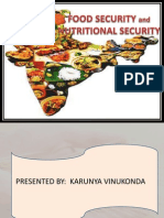 FOODSECURITY- NUTRITIONAL SECURITY
