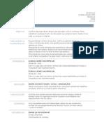 Modelos de Curriculos Prontos 2013 Para Preencher e Imprimir Simples
