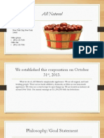 allnatural company powerpoint
