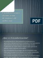 Estandarización y clasificación (1)