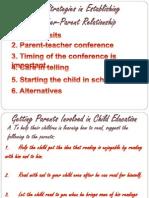 Teacher Parent Relationship