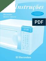 Manual ME21S Electrolux