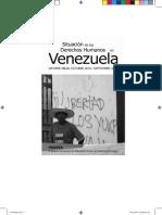 Situacion de Los Derechos Humanos en Venezuela PROVEA 2010-2011