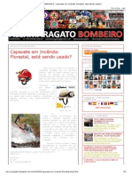 ALEXMARAGATO_ Capacete em Incêndio Florestal, está sendo usado_
