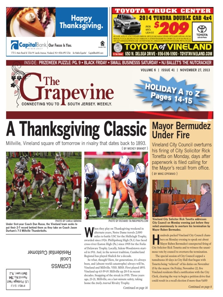 The Grapevine, November 27, 2013 | Radiology | Hairdresser