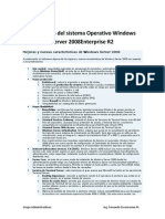 Instalación del sistema Operativo Windows Server 2008Enterprise R2