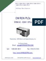Datasheet Omron Sysmac Cqm1 Cpu 21