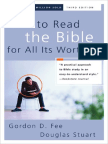 How to Read the Bible for All Its Worth by Gordon D. Fee & Douglas Stuart, Chapter 1