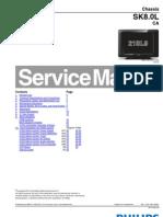 Philips Mod 21pt9470-55---44 - 21sl9 - Chasis Sk8.0l CA