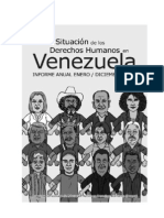Situacion de Los Derechos Humanos en Venezuela PROVEA 2011-2012