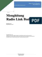 Menghitung Radio Link Budget