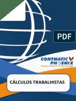 CÁLCULOS TRABALHISTAS