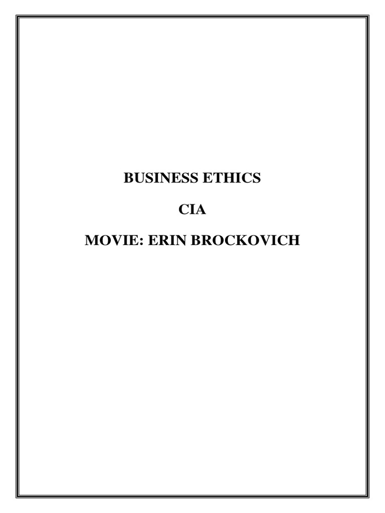 ethical issues in erin brockovich bribery walmart