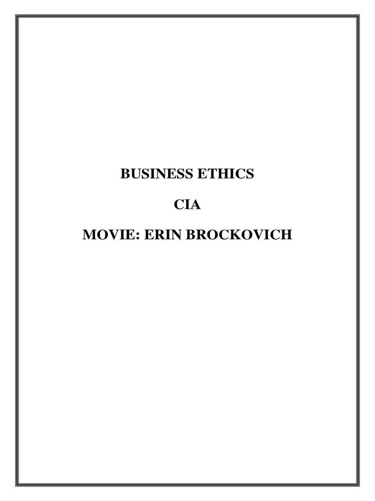 ethical issues in erin brockovich bribery walmart