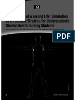 effectiveness of 2nd life sim as teaching strategy 2