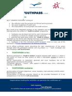 YOUTHPASS Standard Information Sheet
