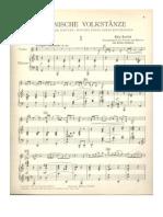 Bartok_Romanian Folk Dances_for Violin_piano