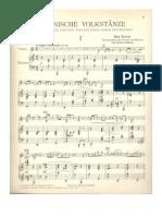Bartok_Romanian Folk Dances_Violin and piano