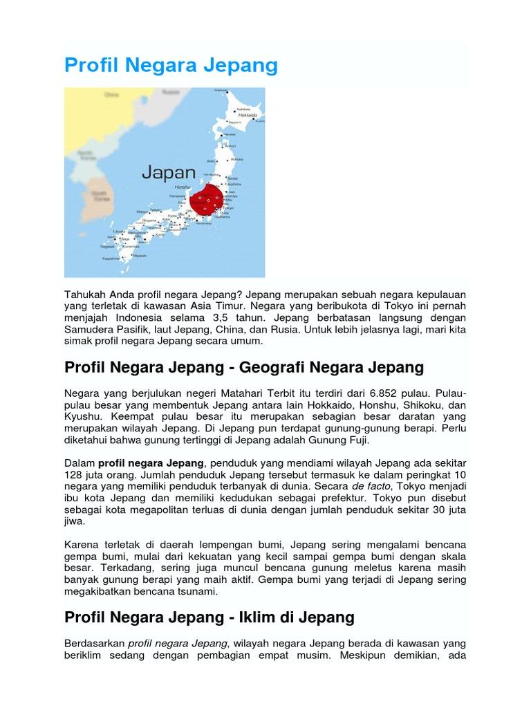 Profil Negara Jepang Iklim Di Jepang