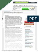 Definiciones Basicas De Electronica Industrial - Ensayos de Colegas - Xolos12.pdf