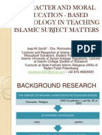 Character and Moral Education - Based Psychology, Isep Ali Sandi