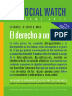 Social Watch Overview Provea 2012