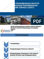 Kebijakan Pengembangan Industri dalam Kawasan Pengembangan Ekonomi Terpadu (KAPET)