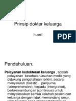 Prinsip dokter keluarga.ppt