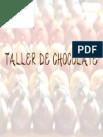 Taller de Trufas y Chocolate Libre