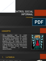 CRIMINOLOGIA - Control Informal y Formal
