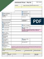 Netherhall Risk Assessment Form