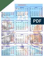 Calendar 2014 pentru copii 1