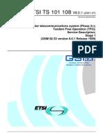 GSM TS 02.53 (TFO)