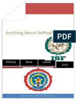 Anything Abovut Softball