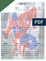 Calendar 2014 pentru copii 3