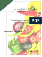 Manual básico para el cultivo de hortalizas
