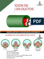 Jalado en Ductos CONDUMEX