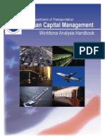 U.S. DOT Workforce Analysis Handbook 2008