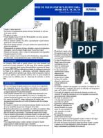 Especificaciones de Extintores