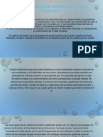 Diseño de reactores catalíticos de lecho fluidizado