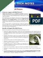 3.8.2 Organic Zinc Rich Primers