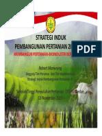 Strategi Induk Pembangunan Pertanian
