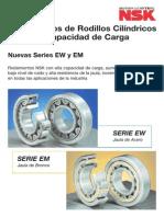 NSK Rodamientos Cilindricos EM y EW