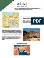 Arqueologia Biblica - O Êxodo( By Rudnai)