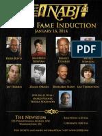 NABJ Hall of Fame - Information