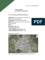 Estudio de Compatibilidad Urbanistica
