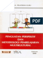 Penguatan Perspektif Dan Metodologi Pembelajaran Multikultural - Modul Pelatihan Guru